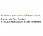 Business international finance awards Logo