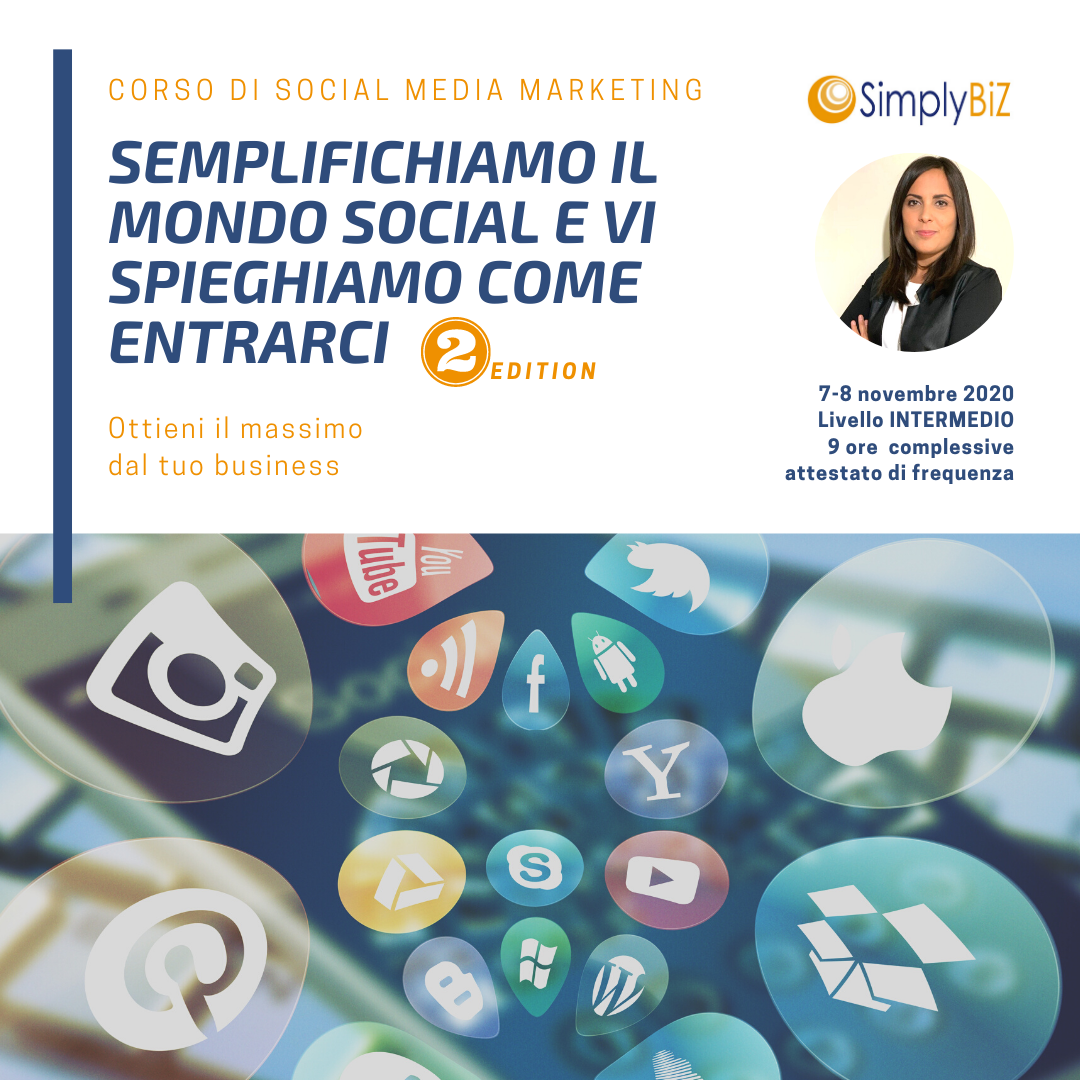 Corso di Social Media Marketing | SimplyBiz